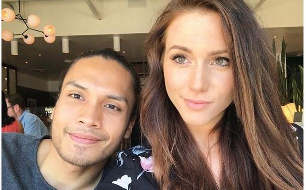 Randy Pangalila dan pacar