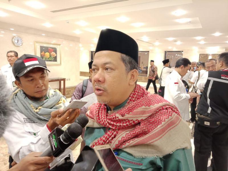 Wakil KEtua DPR RI Fahri Hamzah di Makkah (foto: Amril Amarullah/Okezone)