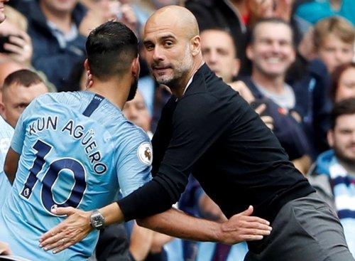 Aguero dan Guardiola