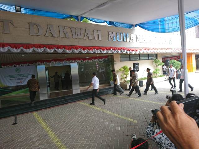 Jokowi ke Muhammadiyah