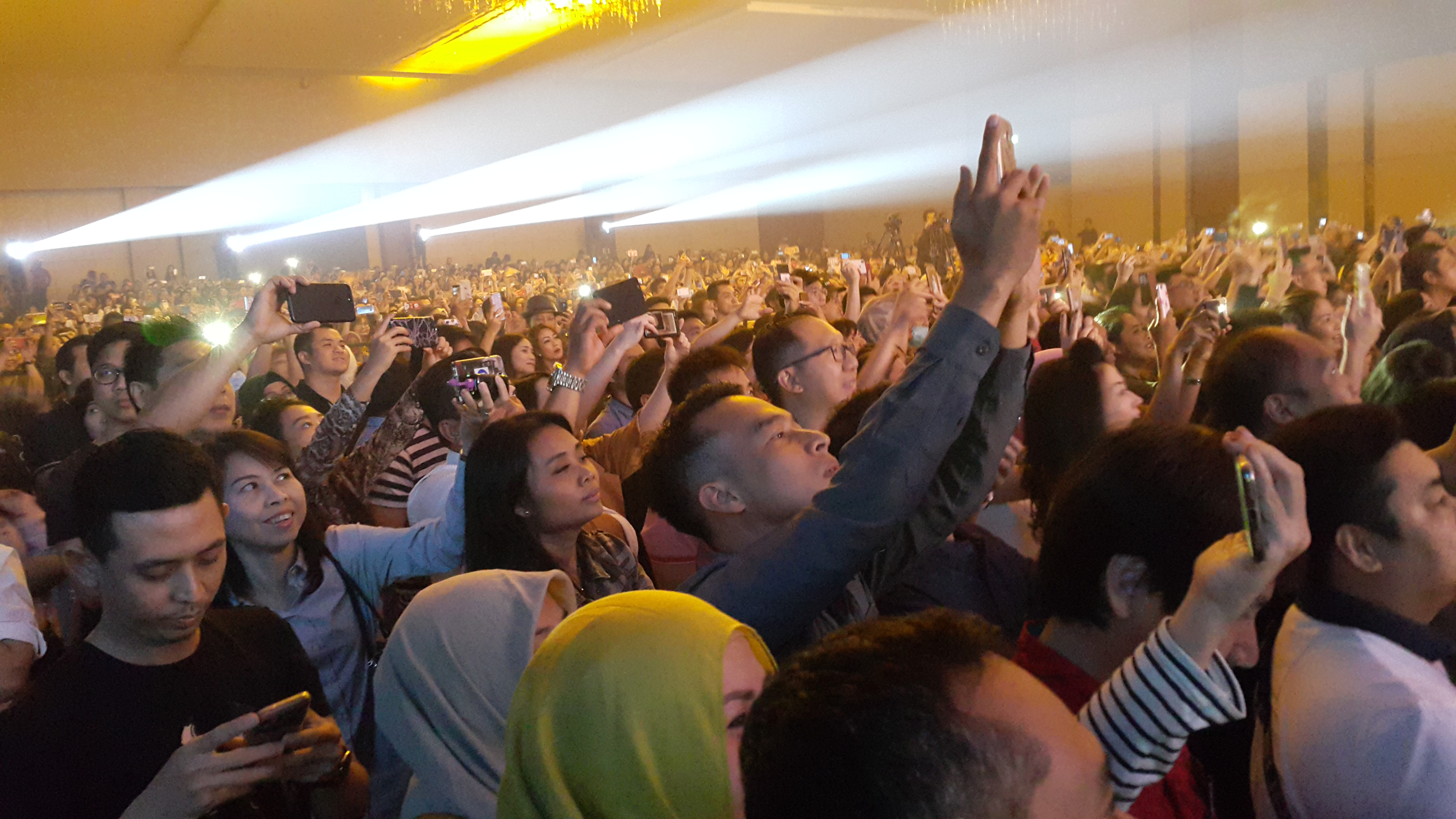 Konser Boyzone di Surabaya, Foto: Syaiful Islam
