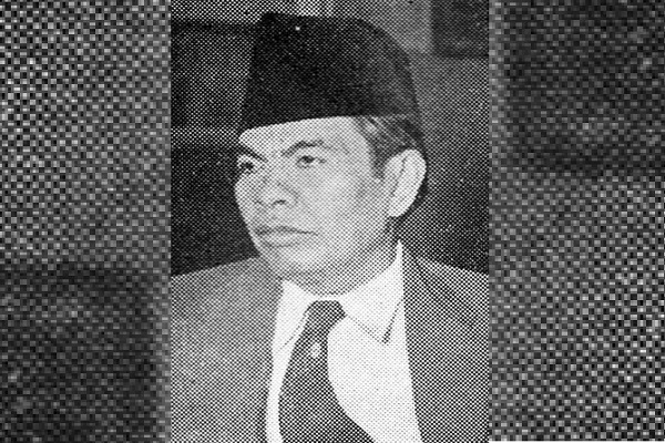 Mohammad Yamin. Foto: Wikimedia.com