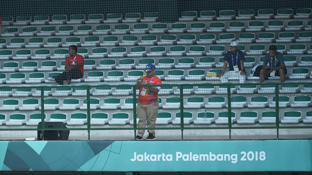 Tribun penonton asian Games 2018