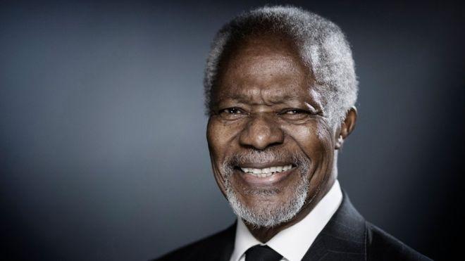 Mantan Sekjen PBB Koffi Annan (foto: BBC)