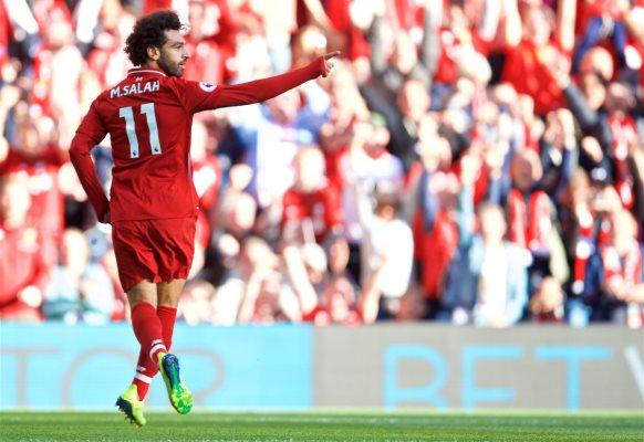 Mohamed Salah. Foto: Reuters