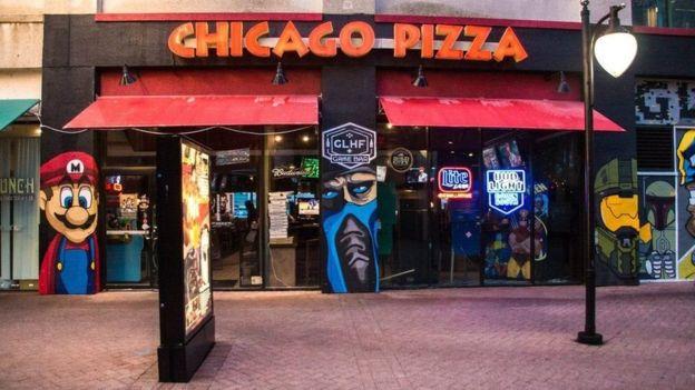 Penembakan terjadi di restoran yang menggelar acara lomba video game. (GLHF Game Bar)