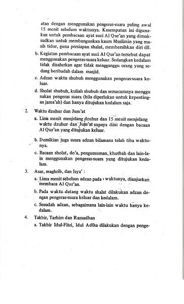 Surat Edaran Dirjen Bimas Islam Kemenag
