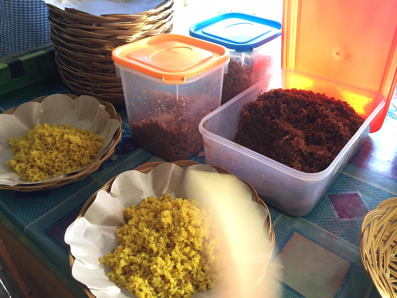 Nasi Kuning (Dimas Andhika/Okezone)