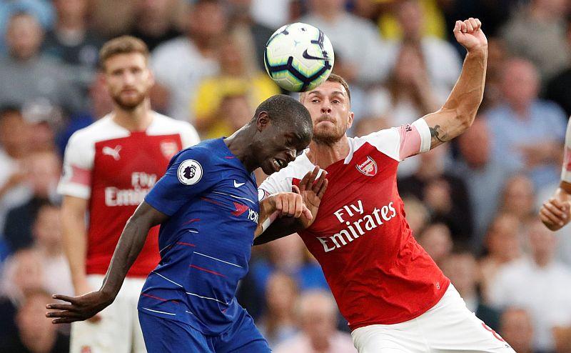 N'Golo Kante vs Arsenal
