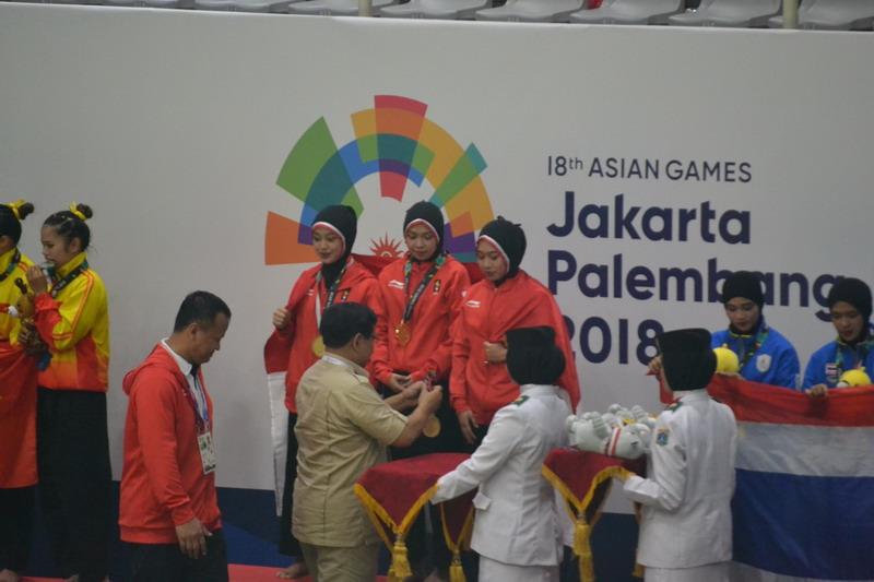 Pencak Silat Asian Games 2018 beregu putri
