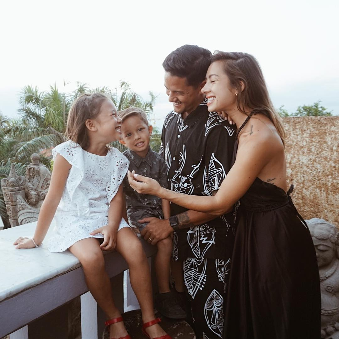 Irfan Bachdim dan keluarga