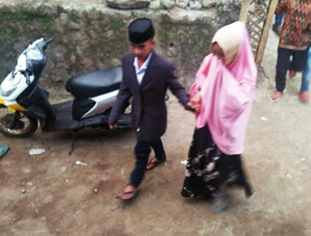 Pernikahan Dini di Bantaeng (foto: Ist)