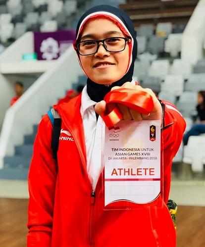 Atlet-Atlet Berhijab Ini Mengharumkan Nama Indonesia ...