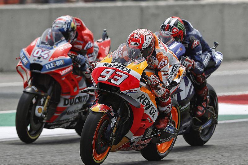 Honda, Ducati, dan Yamaha