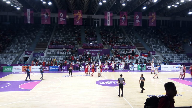 Tim basket putra Indonesia di Asian Games 2018