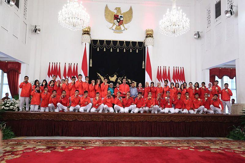 Atlet Indonesia peraih medali