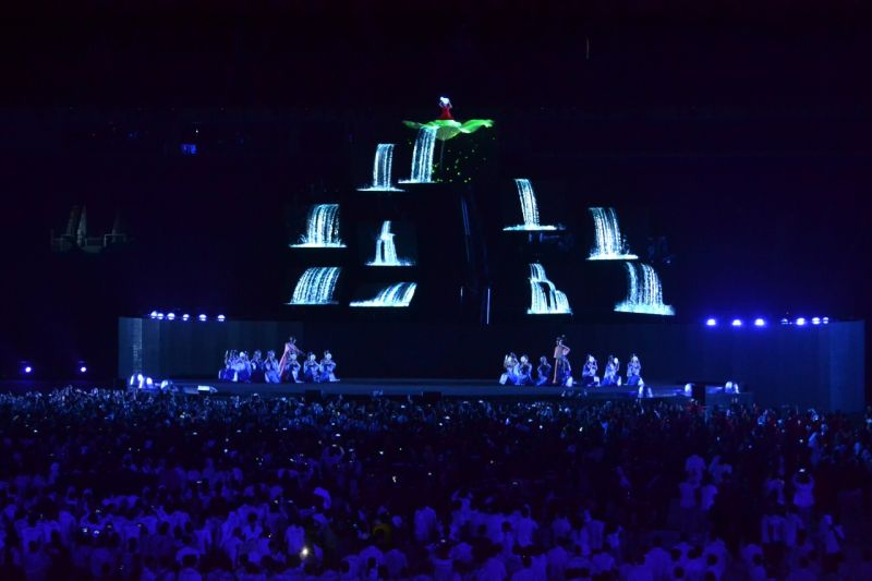 Closing Ceremony Asian Games 2018 (Foto: Bagas Abdiel/Okezone)