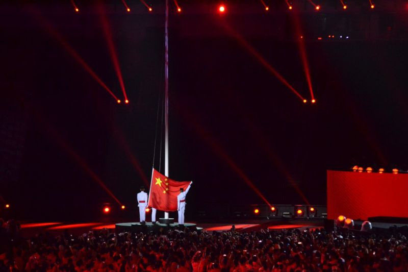 Closing Ceremony Asian Games 2018 (Foto: Bagas Abdiel/Okezone)