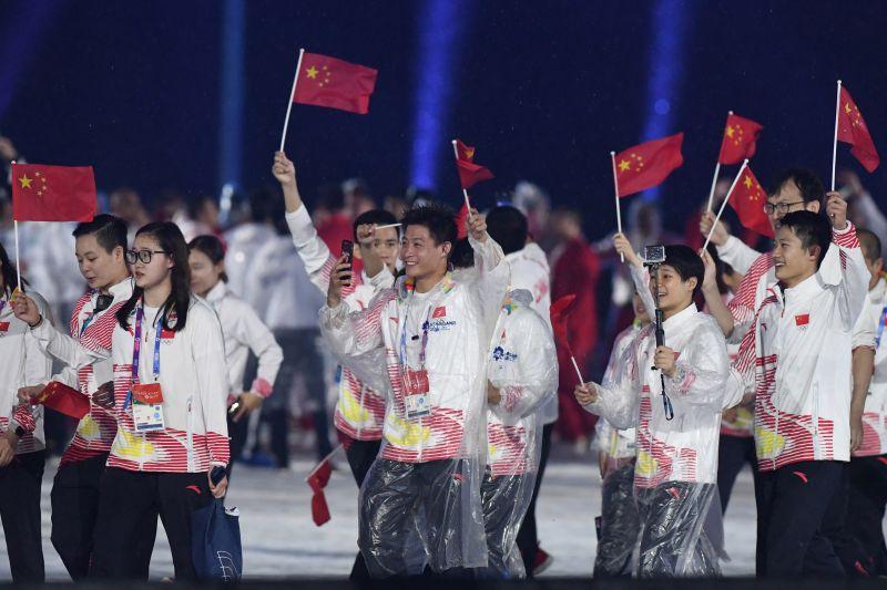 Atlet China (Foto: INASGOC)