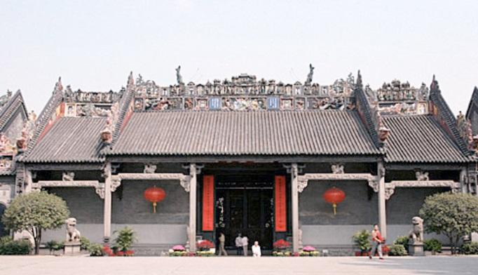 Kuil leluhur Keluarga Chen (China.org.cn)