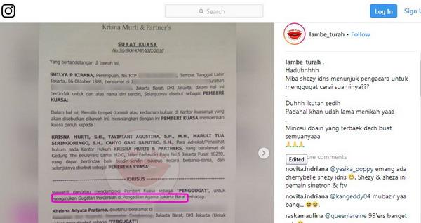 Menikah 7 Tahun Shezy Idris Gugat Cerai Suami Okezone