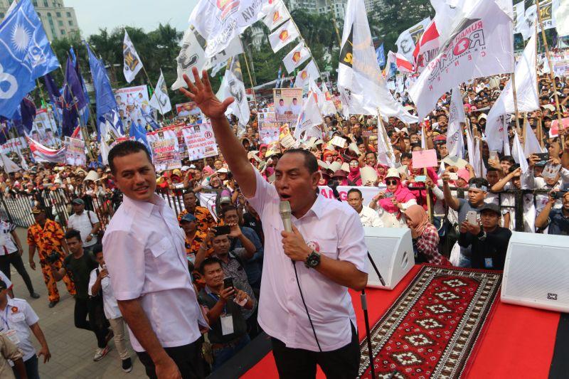 Gubernur Sumut Sekaligus Ketum PSSI Edy Rahmayadi (foto: Okezone)