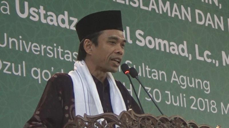 Ustaz Abdul Somad (foto: Ist)