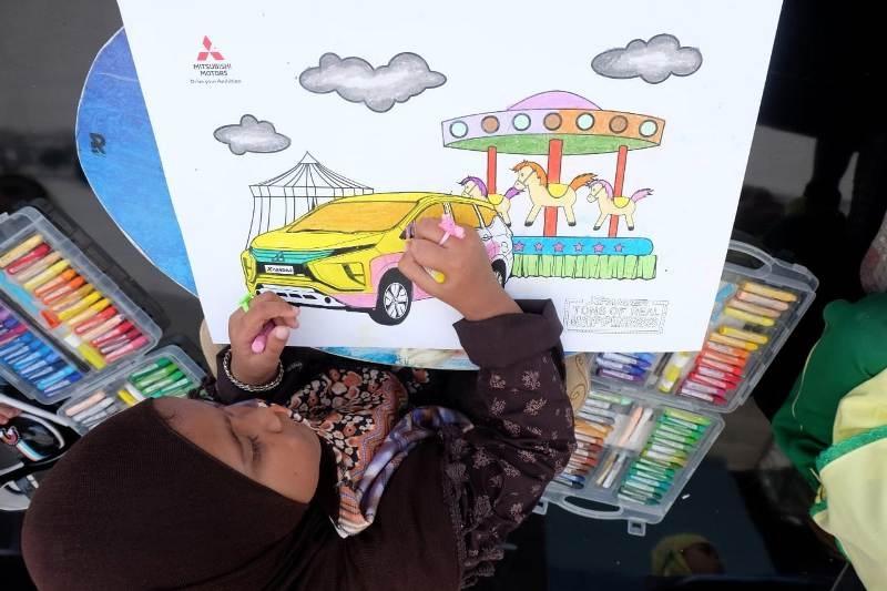 Lomba Mewarnai Dan Workshop Watercolor Painting Menambah Keceriaan