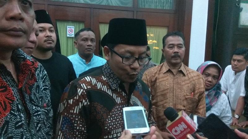 Plt Wali Kota Malang Sutiaji. (Foto: Avirista Midaada/Okezone)