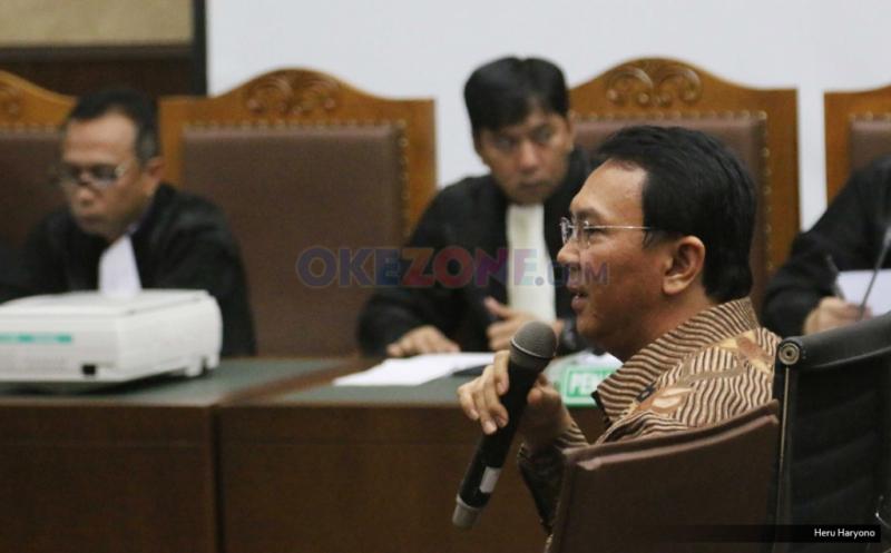 Mantan Gubernur DKI Jakarta Basuki Tjahaja Purnama alias Ahok (foto: Okezone)