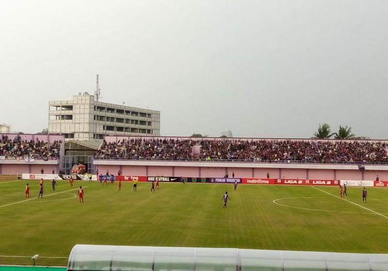 Stadion Persita Tangerang (Foto: Anggun/Okezone)