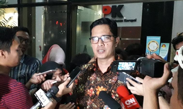 Juru Bicara KPK Febri Diansyah (foto: Okezoene)