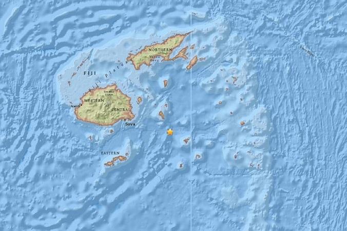 Gempa Fiji (Daily Mirror)
