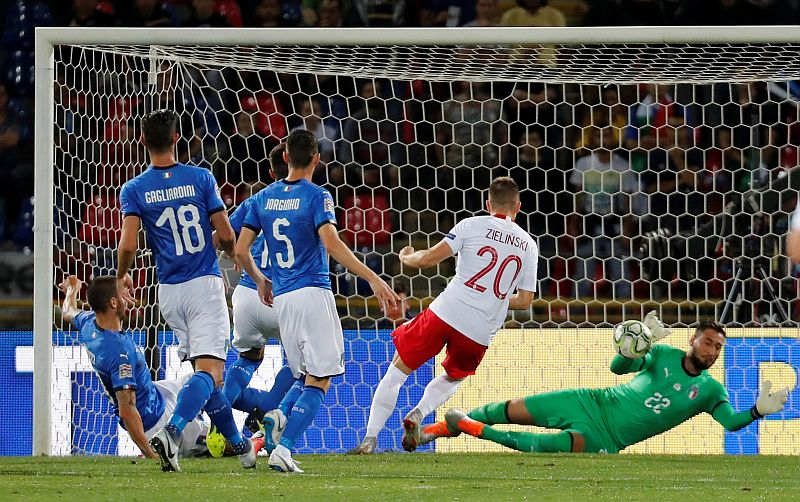 Italia vs Polandia (Foto: Reuters)