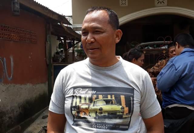 Ayah Bripda Puput (foto: Wahyu M/Okezone)