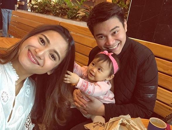 Acha Septriasa, suami, dan anak
