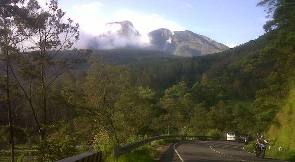 Gunung Lawu. (Foto: Bramantyo/Okezone)