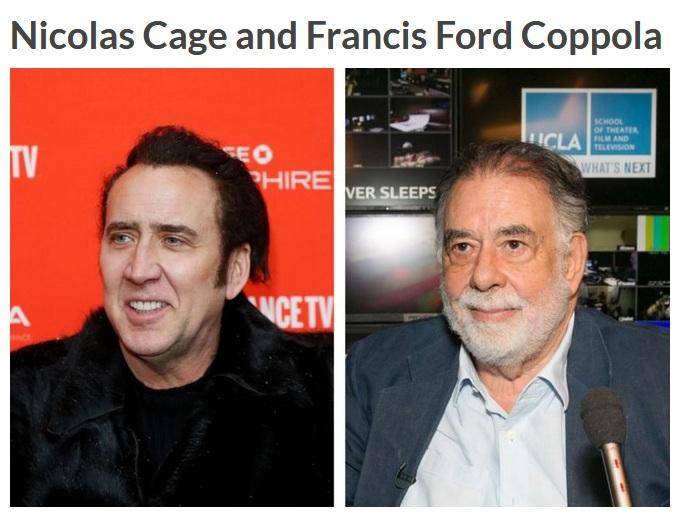 Nicolas Cage dan Francis (Reader Digest)