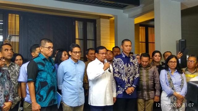 Prabowo bertemu SBY