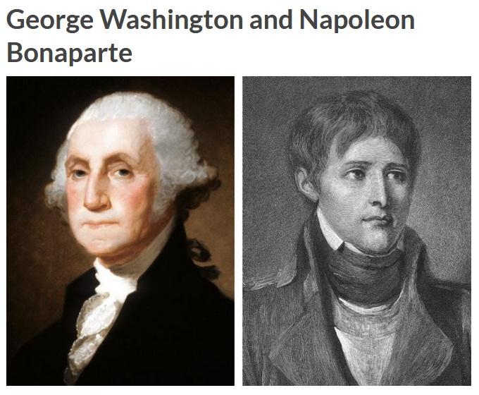 George Washington dan napoleon (Reader Digest)
