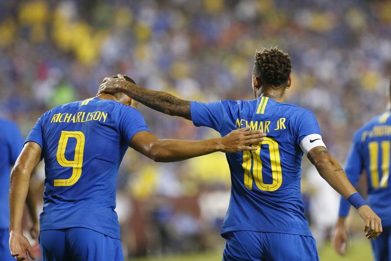Richarlison dan Neymar