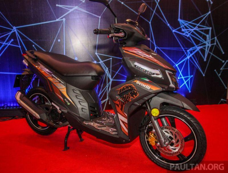 harga yamaha Benelli VZ125i Rp18 juta-an