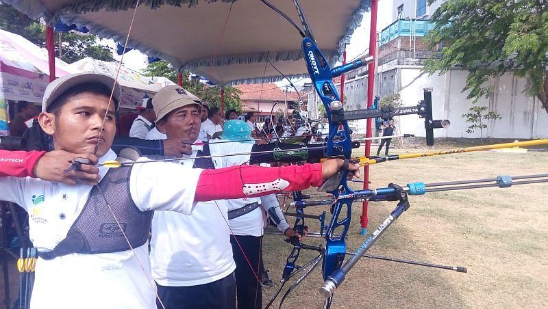 Atlet Panahan Asian Para Games 2018