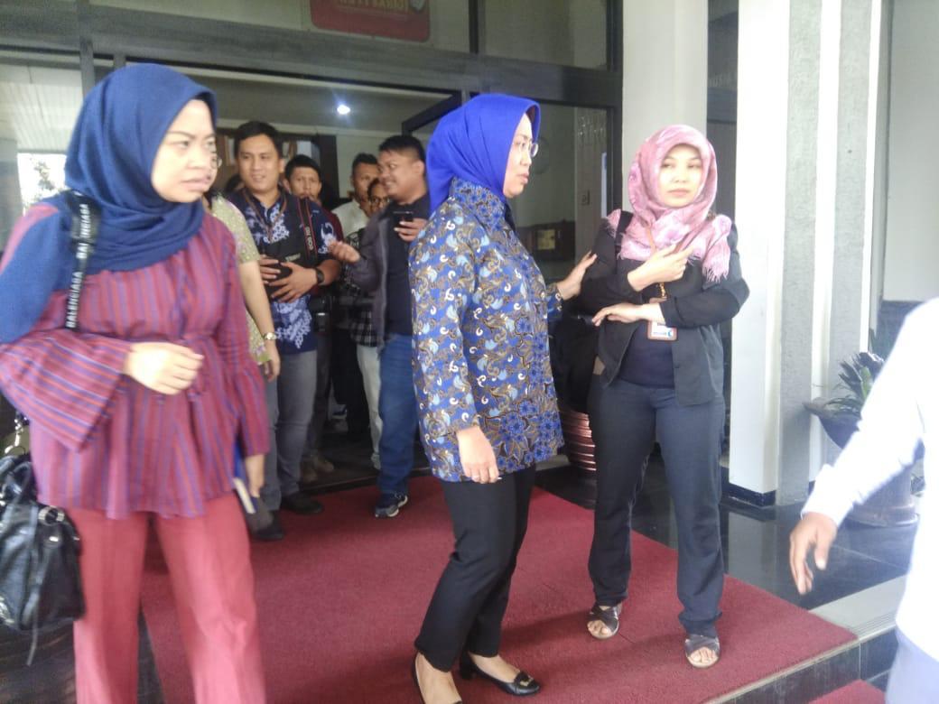 Anggota Ombudsman Ninik Rahayu saat Sidak di Lapas Sukamiskin, Bandung (foto: CDB Yudistira/Okezone)