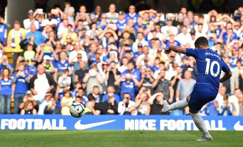 Chelsea vs Cardiff City. Foto: Reuters