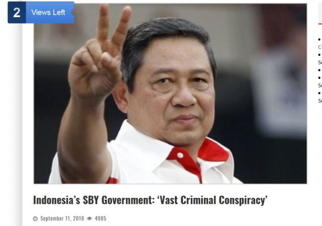 Foto: Okezone/Asia Sentinel