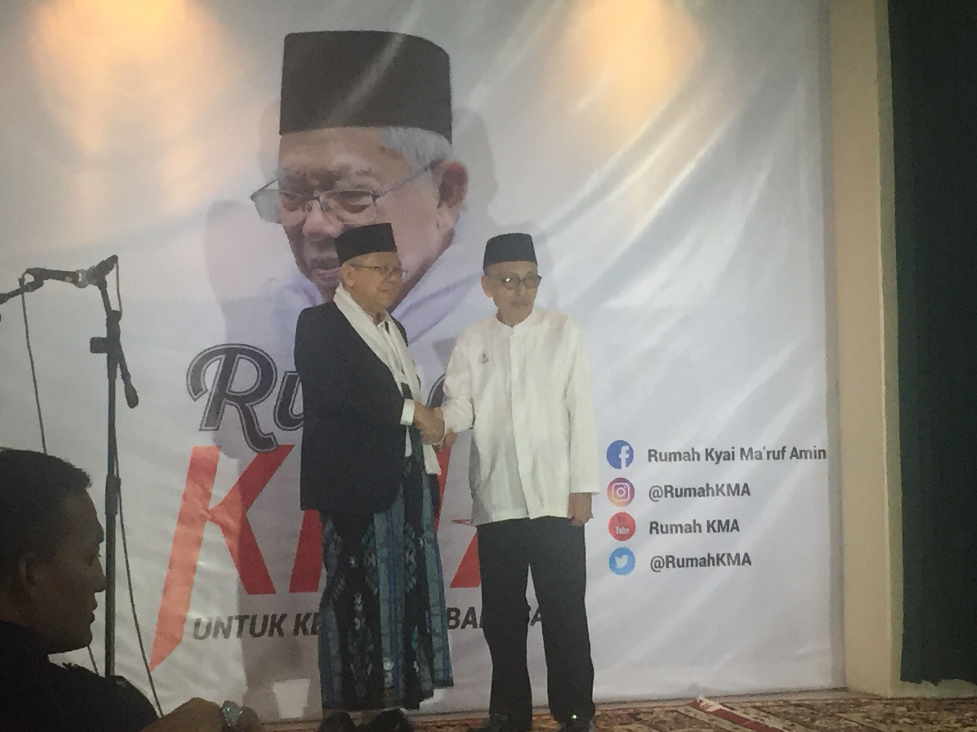 Ma'ruf Amin resmikan Rumah KMA