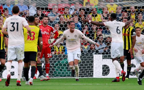 Watford vs Manchester United. Foto: Reuters