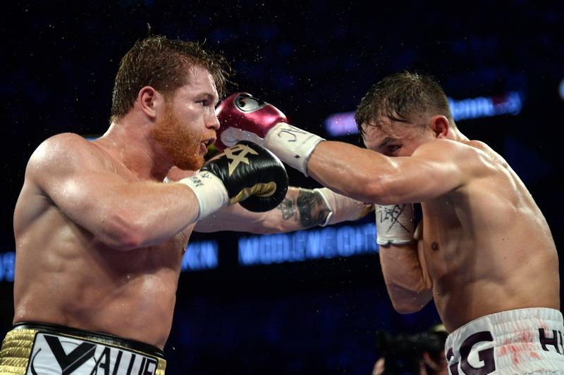 Canelo Alvarez vs Golovkin