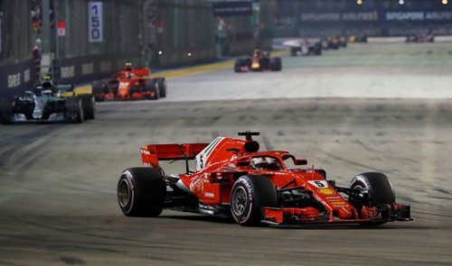 F1 GP Singapura 2018